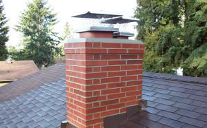 Dual Chimney Cap Replacement