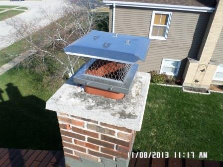 Newly Replaced Chimney Cap