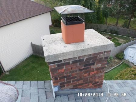 Square Style Chimney Cap