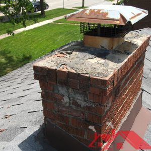 Example of Typical Chimney Repairs Needed