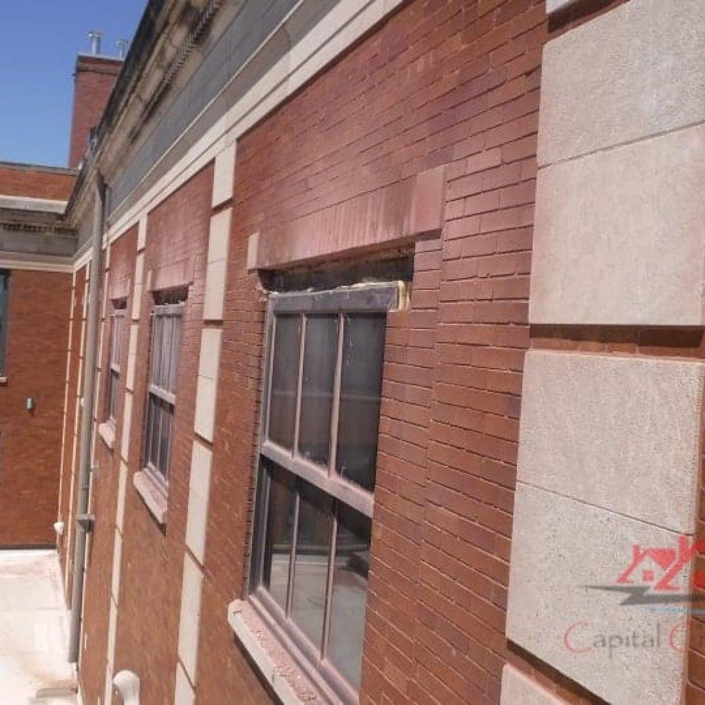 Commercial Brick Mortar Repair