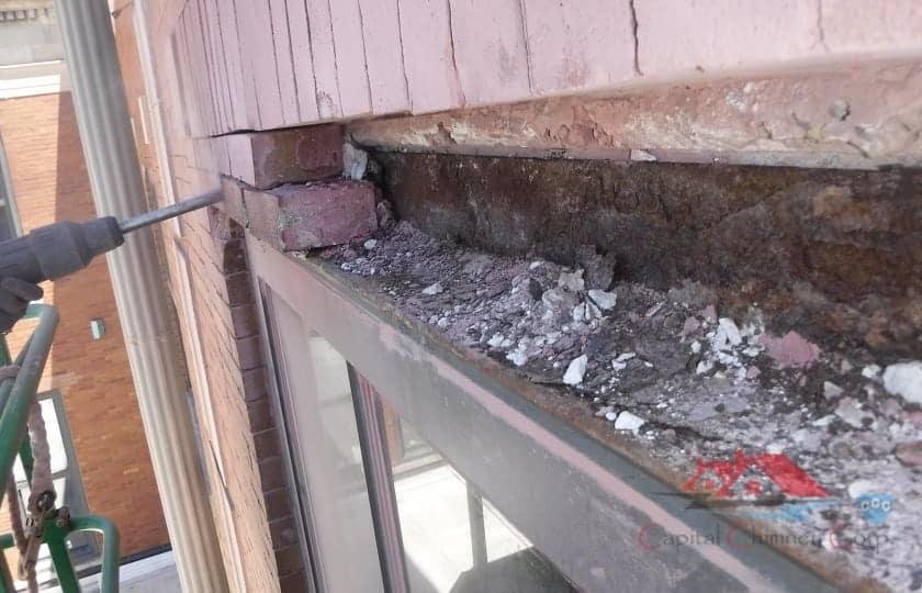Commercial Brick Repair