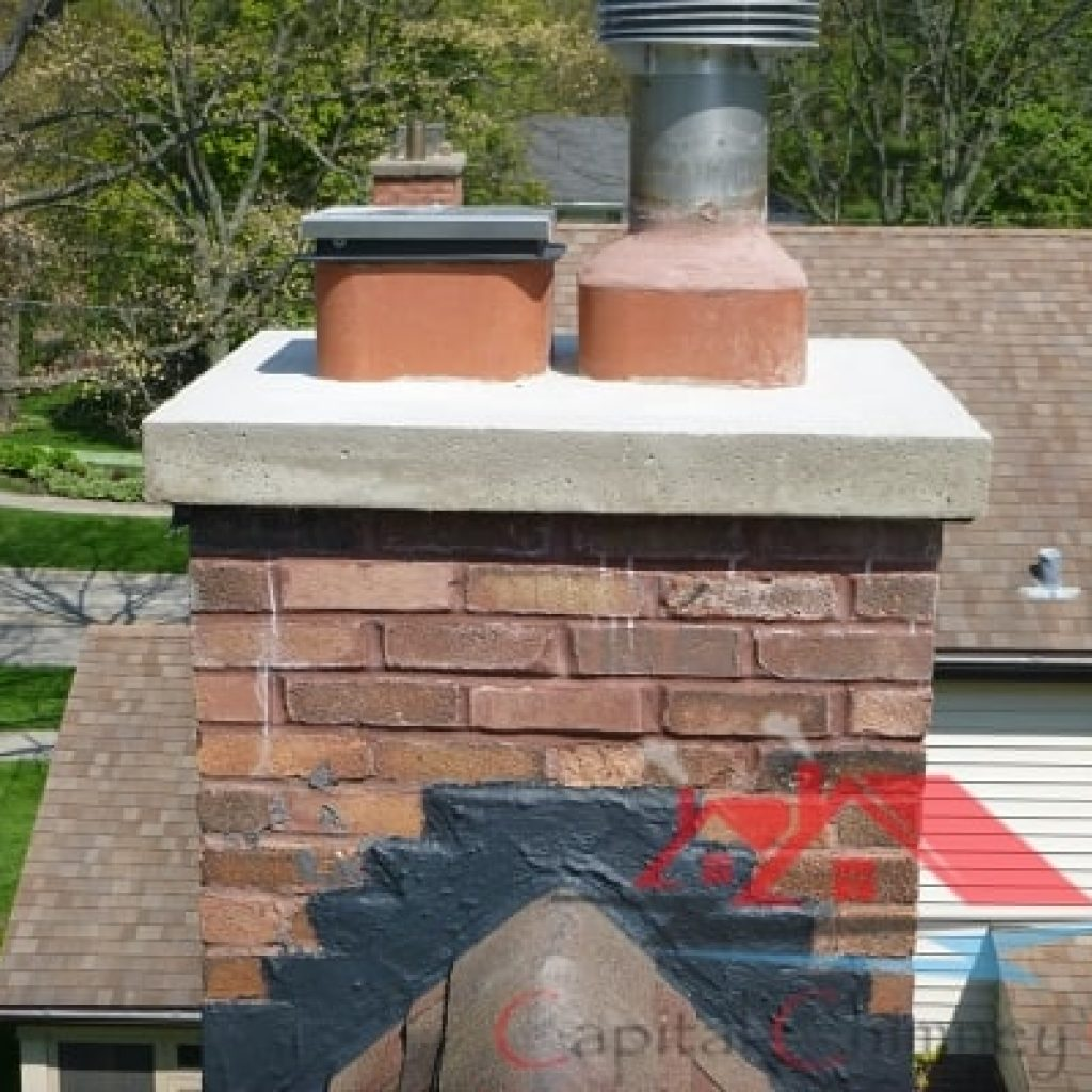 Leaky Chimney Repair After