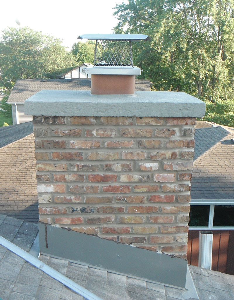 Mortar Repair, Capital Chimney Corp.